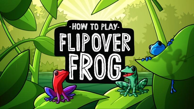 Flip Over Frog Game Brand New /& Sealed
